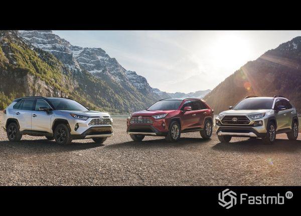 Комплектации нового Toyota RAV4 2019