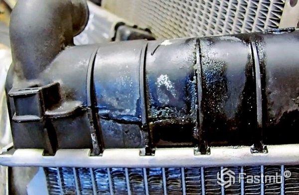 Типичные неисправности радиатора охлаждения