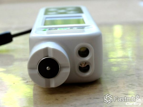 Сенсор для замера лкп и светодиоды