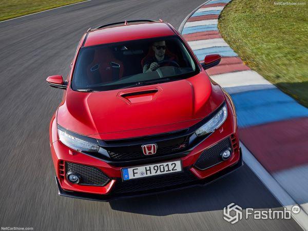 Honda Civic Type R 2018, вид спереди