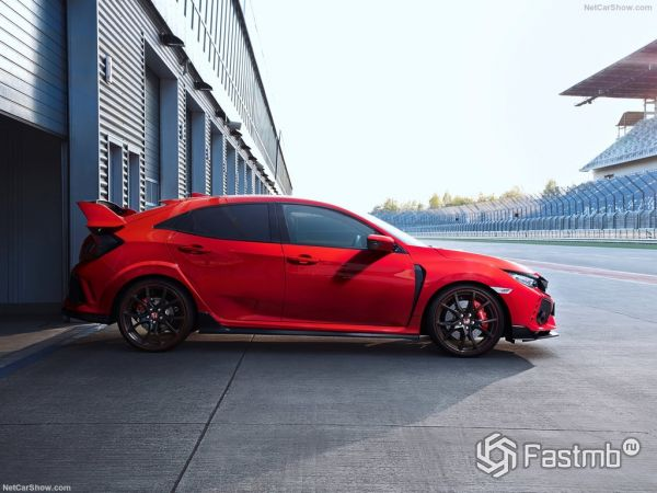 Honda Civic Type R 2018: характеристики, цена, фото и видео-обзор