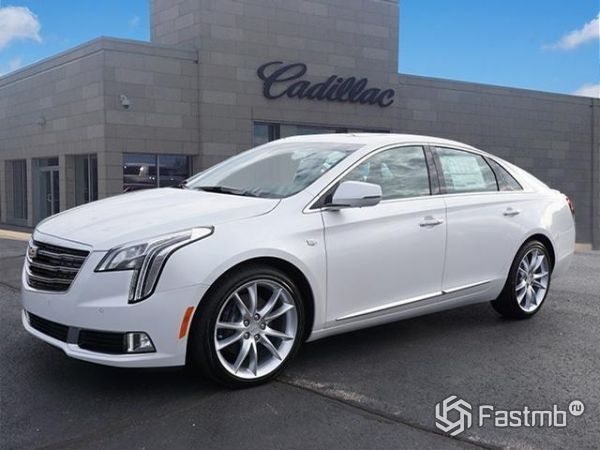 Передняя оптика Cadillac XTS 2018