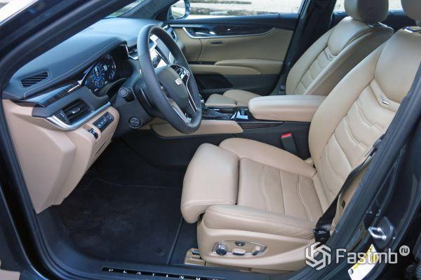 Заряженный Cadillac XTS V-Sport AWD