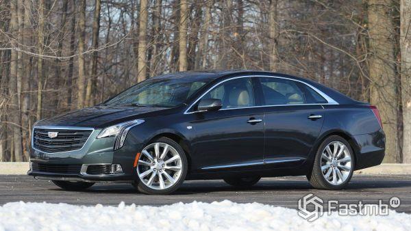 Боковая часть нового Cadillac XTS 2018