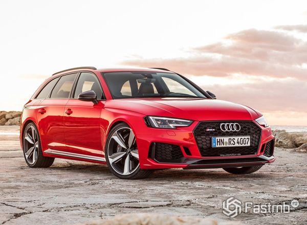 Внешний вид универсала Audi RS4 Avant 2018