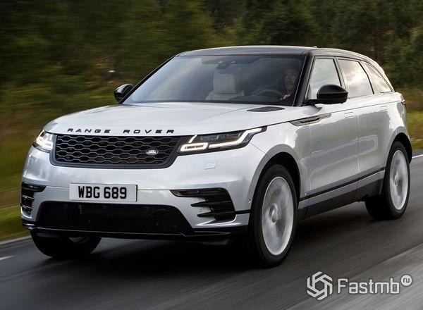Новый Range Rover Velar 2019