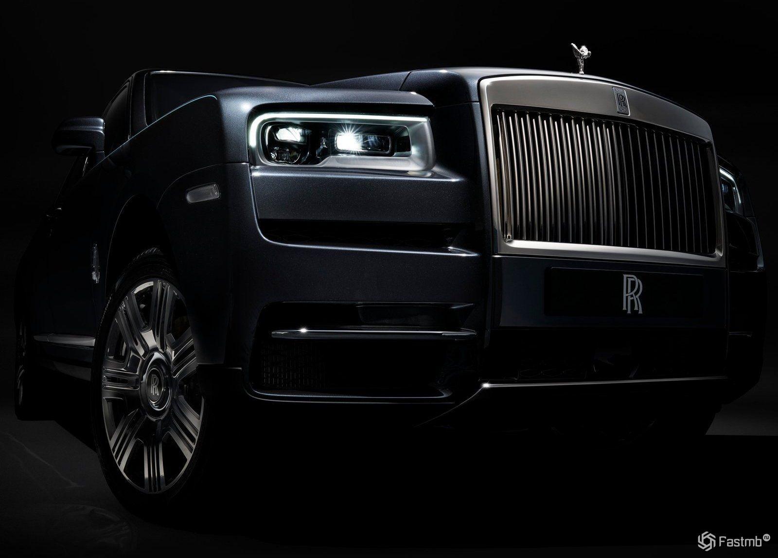 Новый кроссовер Rolls-Royce Cullinan 2019