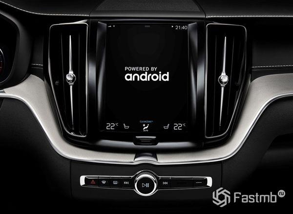 Android Auto для Volvo