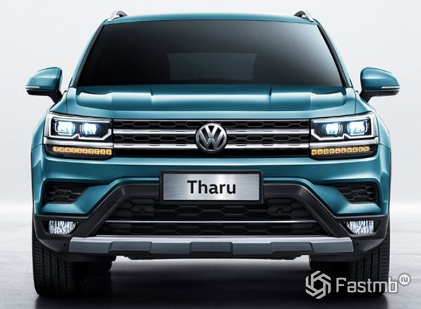 Новый Volkswagen Tharu 2019-2020