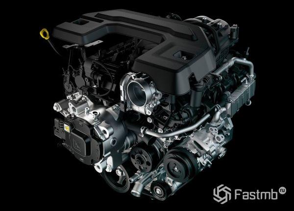 Двигатель нового пикапа