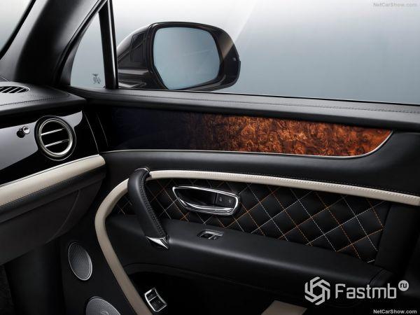 Bentley Bentayga Mulliner 2018, элементы интерьера