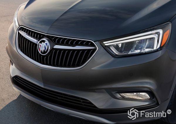 Передняя оптика и капот Buick Encore 2018-2019