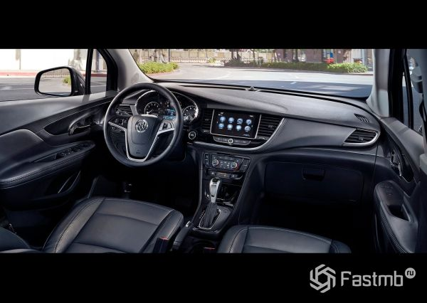 Интерьер нового Buick Encore 2018