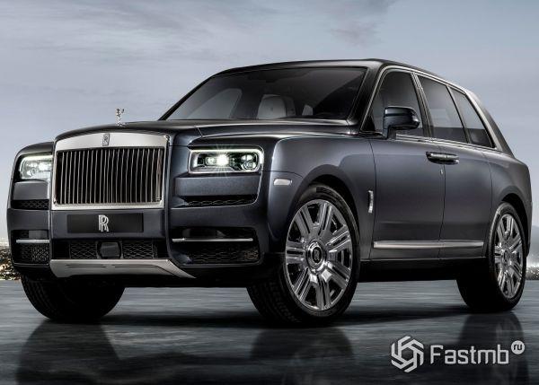 Стильный Rolls-Royce Cullinan 2019