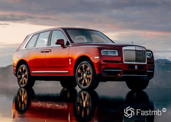 Rolls-Royce Cullinan 2019 самый дорогой кроссовер в мире