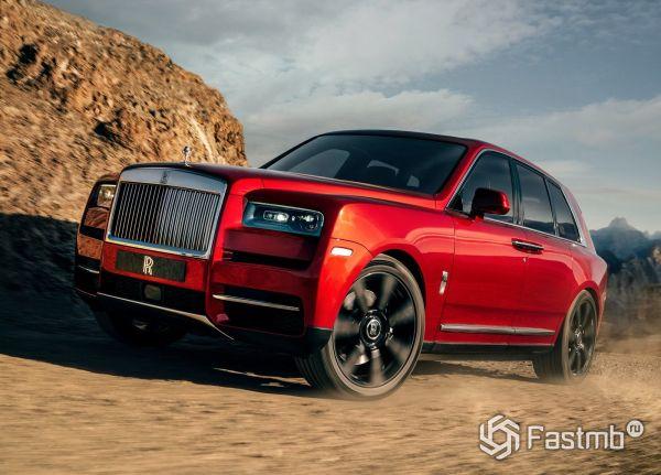 Самый дорогой кроссовер Rolls-Royce Cullinan 2019