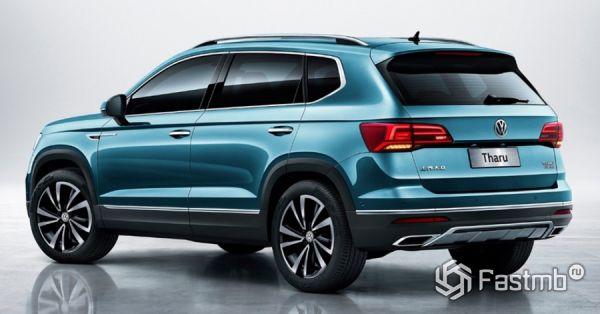 Светодиодные стопы нового Volkswagen Tharu 2019