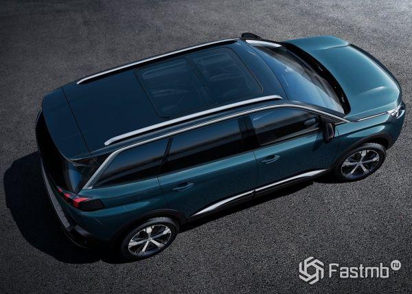 Панорамная крыша Peugeot 5008 2017