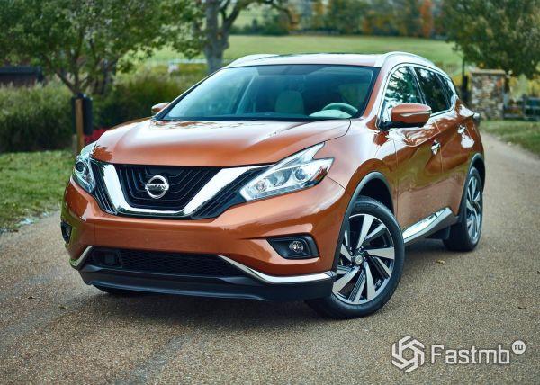 Новый Nissan Murano 2017