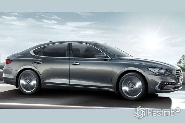 Стильный седан Hyundai Grandeur