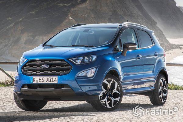 Новый Ford EcoSport ST-Line 2018
