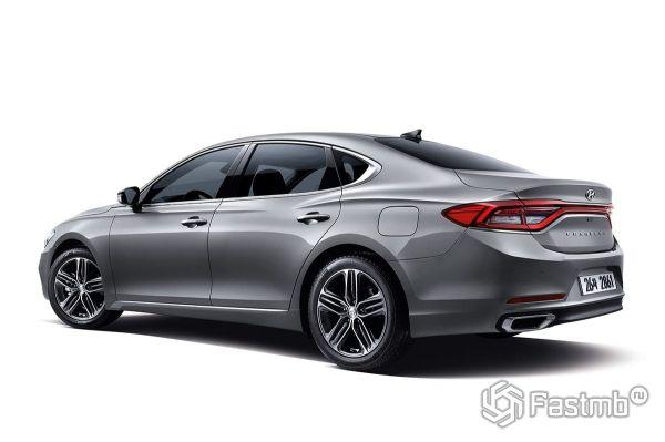 Hyundai Grandeur 2017-2018, вид сзади