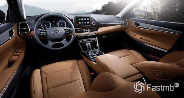 Передняя панель Hyundai Grandeur