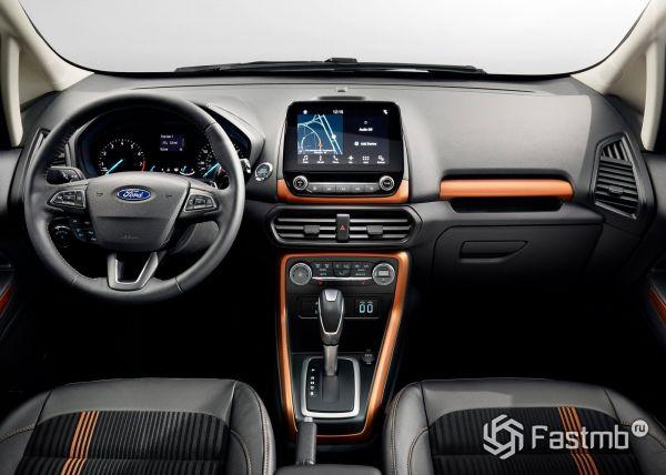 Интерьер Ford EcoSport 2018