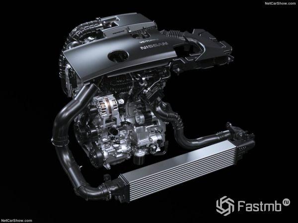 Nissan Altima 2019, двигатель