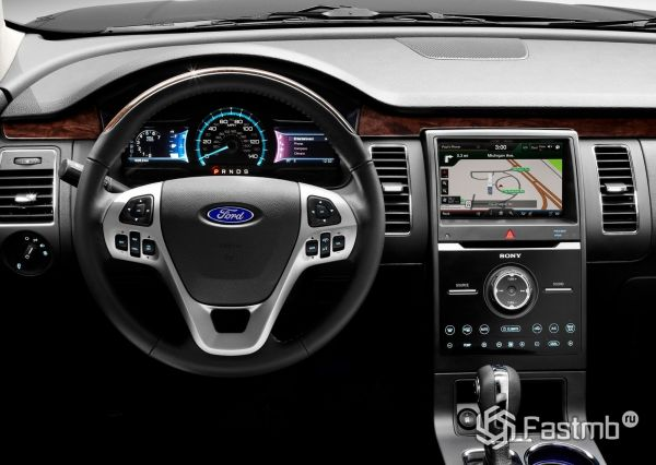 Водительское место Ford Flex