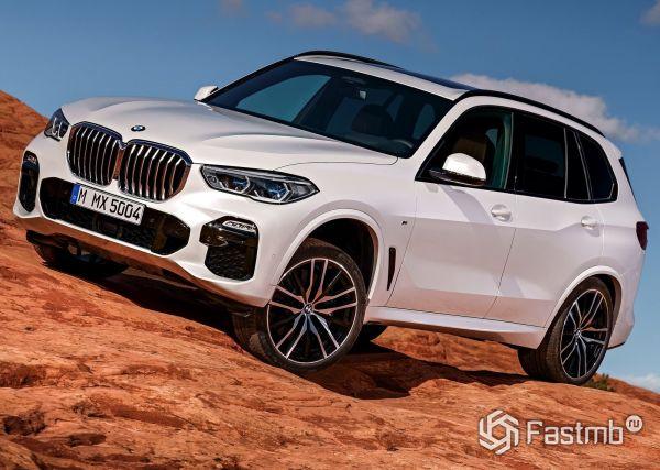 Новая генерация BMW X5 2019