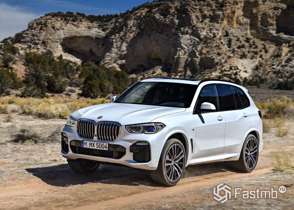 Стильный BMW X5 2019