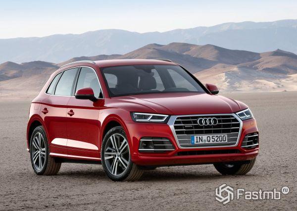 Вторая генерация Audi Q5 2017