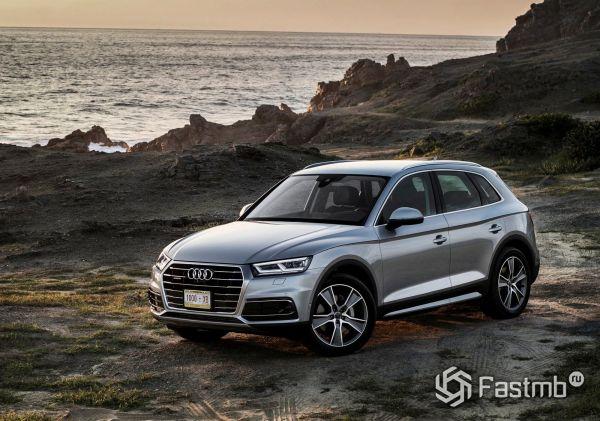 Обновленный кроссовер Audi Q5 2018