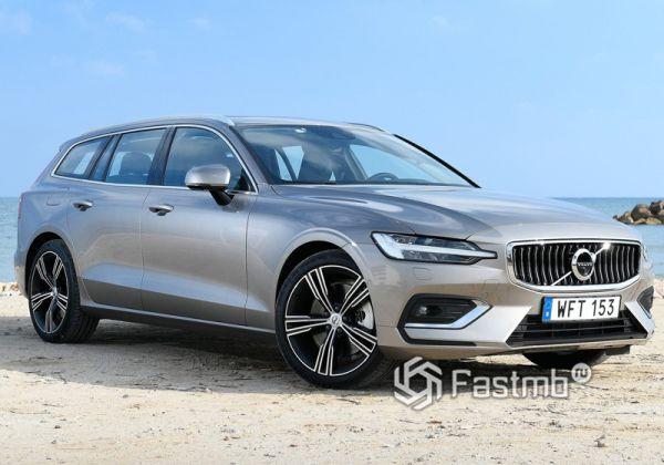 Стильный Volvo V60 2019
