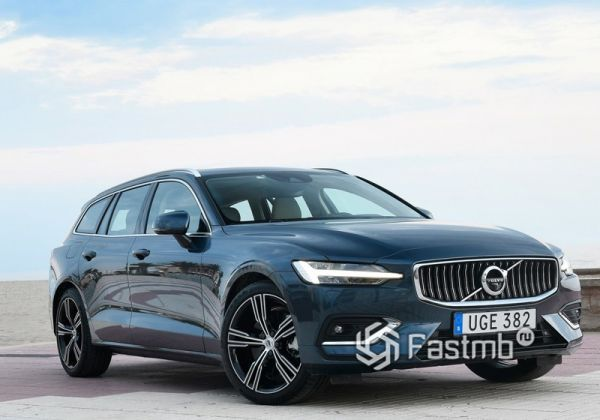 Вторая генерация Volvo V6 2019