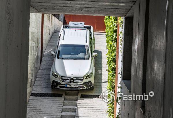 Крыша Mercedes-Benz X-Class 2018