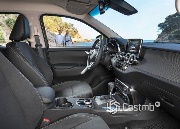 Передние сиденья Mercedes-Benz X-Class 2019