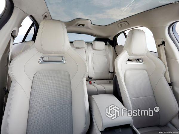 Jaguar I-Pace 2019, сидения