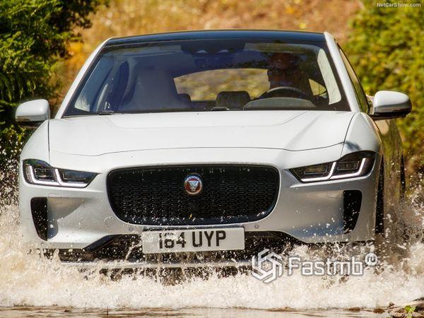 Jaguar I-Pace 2019, вид спереди