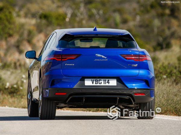 Jaguar I-Pace 2019, вид сзади