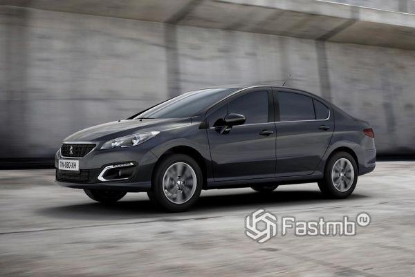 Новое поколение Peugeot 408 2014-2019