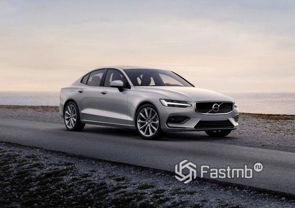 Новый седан Volvo S60 2019