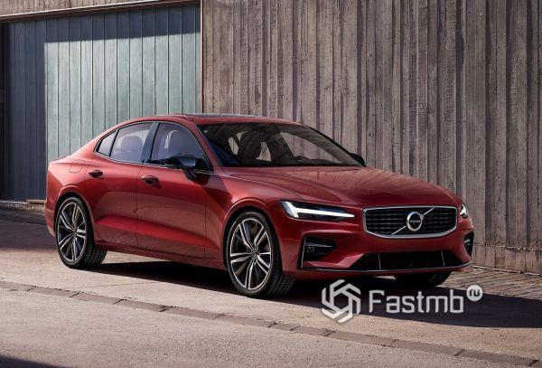 Светодиодная оптика седана Volvo S60 2019