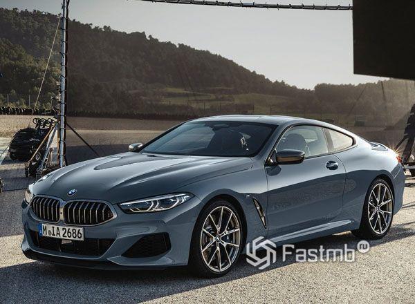 Передняя оптика BMW 8-Series Coupe