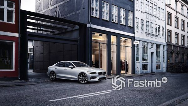 Стильный седан Volvo S60 T8 Polestar Engineered