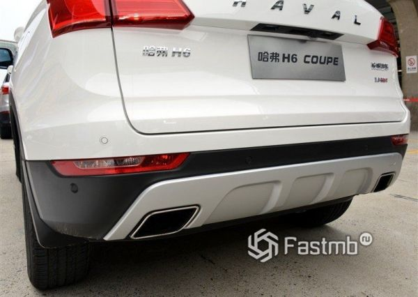 Выхлопная система Haval H6 Coupe