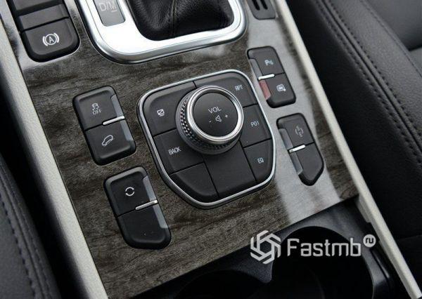 Селектор и кнопки управления