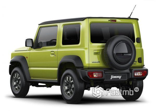 Suzuki Jimny 2019, вид сзади