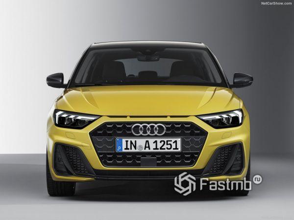 Audi A1 Sportback 2019, вид спереди